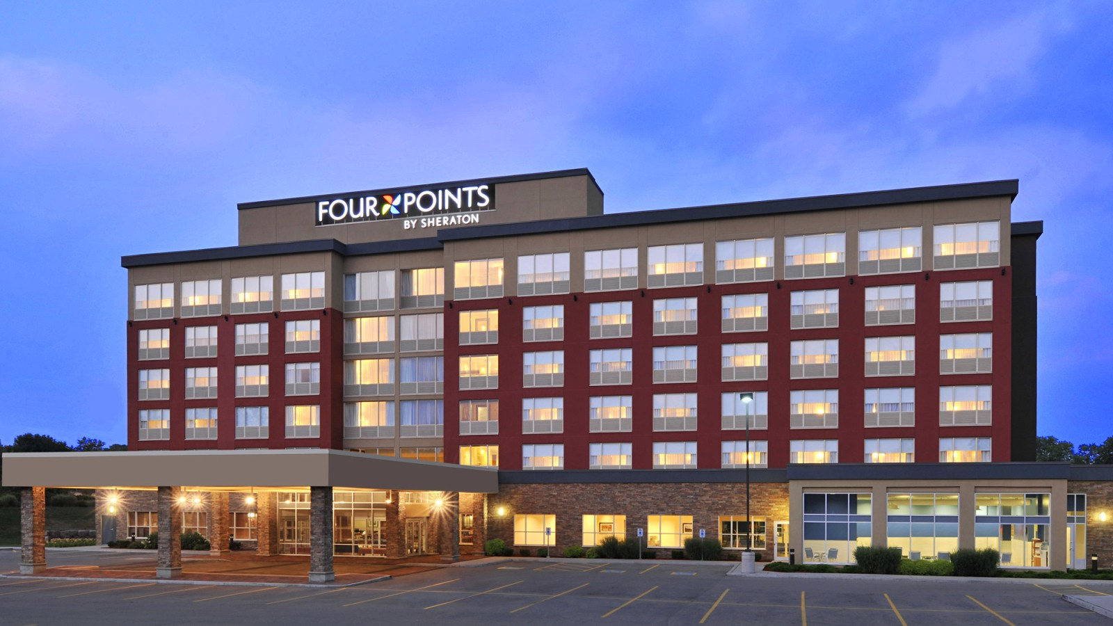 Four Points Waterloo Kitchener Hotel